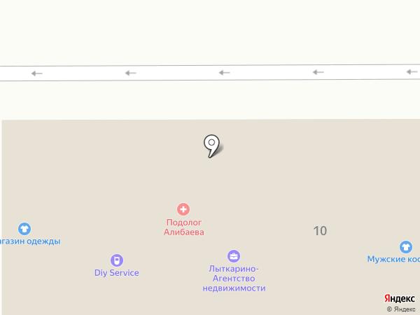 Импульс на карте Лыткарино