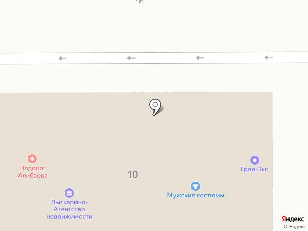 Мама ждет на карте Лыткарино