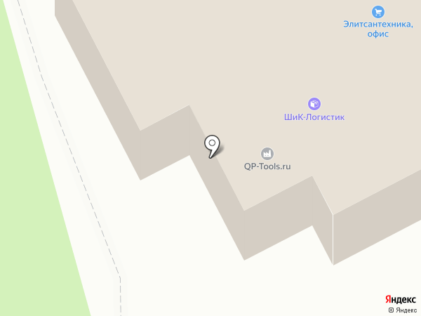 Гидромас на карте Лыткарино