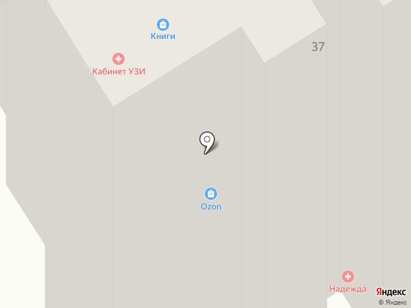 Эдельвейс на карте Старого Оскола