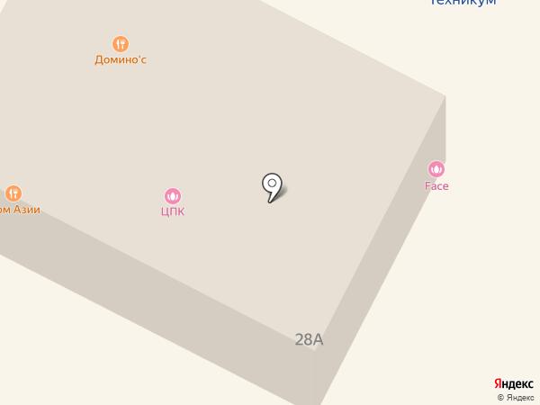 Subway на карте Ивантеевки