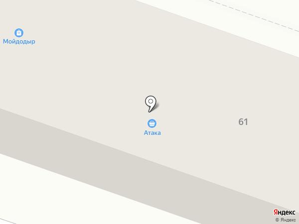 Наша Ряба на карте Макеевки
