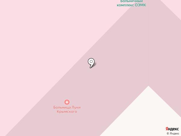 Городская больница №2 на карте Старого Оскола
