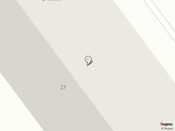 Парус на карте Лыткарино