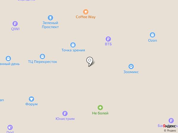 Сюртук на карте Старого Оскола