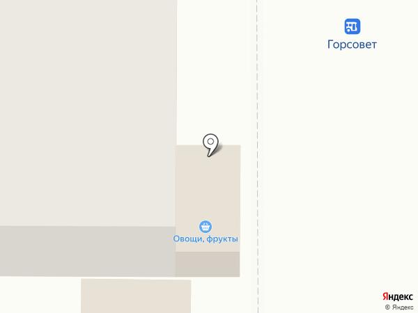 Киоск по продаже мороженого на карте Ивантеевки