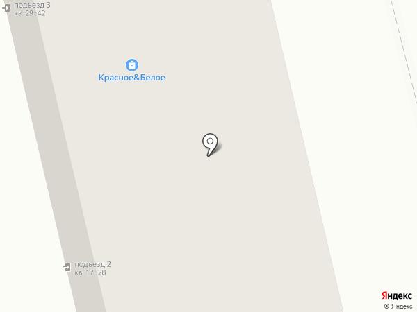 Магазин алкогольной продукции на карте Ивантеевки
