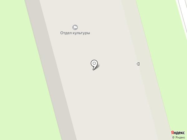 Городская библиотека №1 на карте Ивантеевки