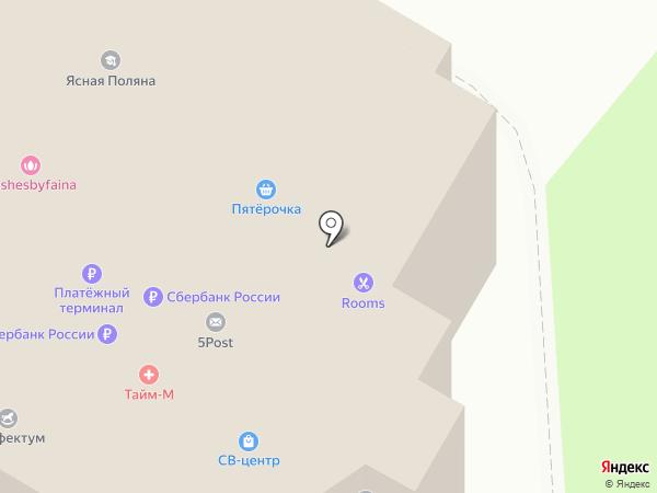 СВ-центр на карте Лыткарино