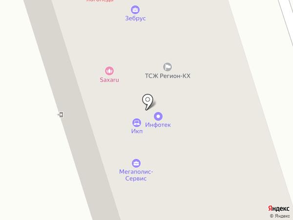 Юлия на карте Ивантеевки