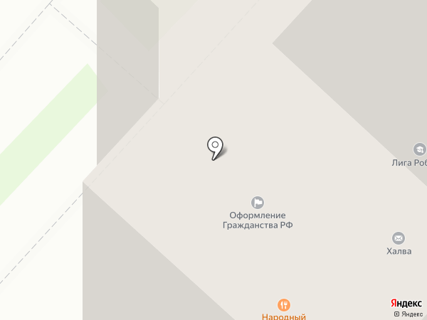 Магазин профессиональной косметики на карте Люберец
