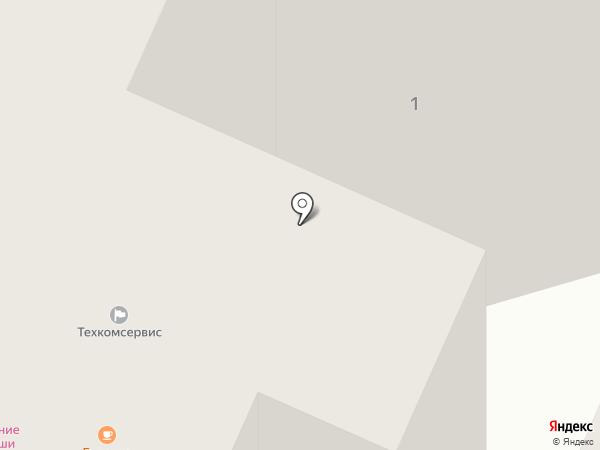 Кружка на карте Ивантеевки