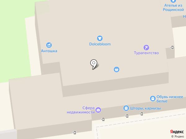 Родник Здоровья на карте Ивантеевки