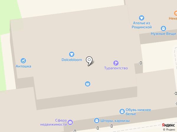 Паспарту на карте Ивантеевки