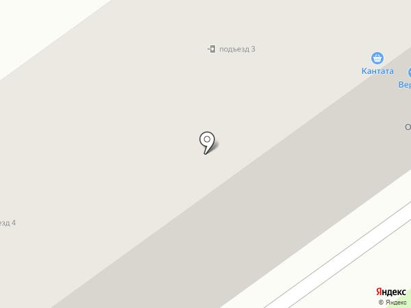 Верный на карте Лыткарино