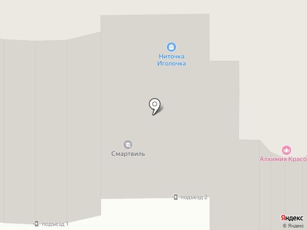 Тайрай на карте Ивантеевки