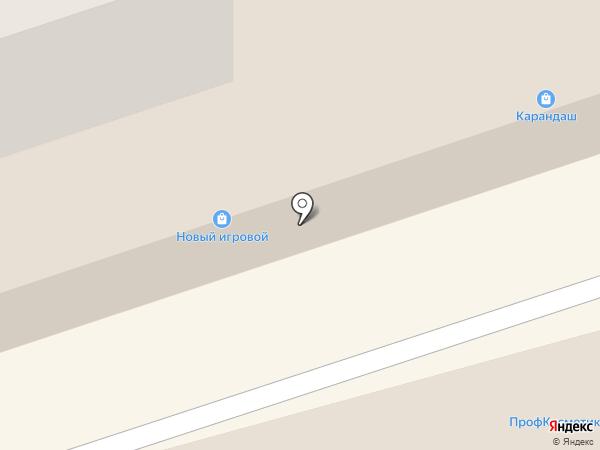 Магазин сантехники на карте Ивантеевки