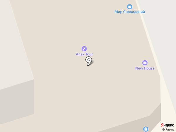New house на карте Ивантеевки