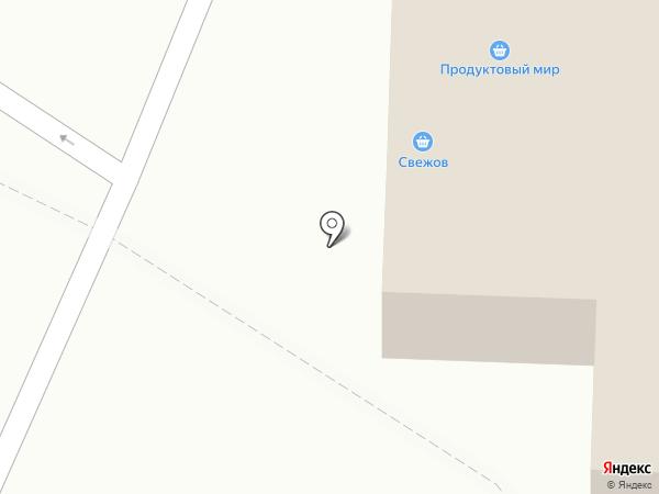Свежов на карте Ивантеевки
