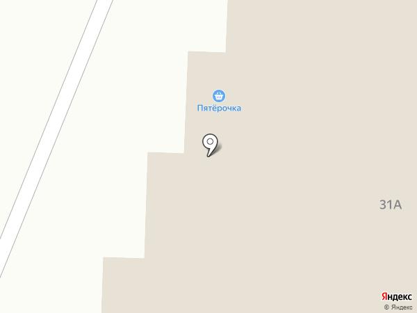 Пятерочка на карте Ивантеевки