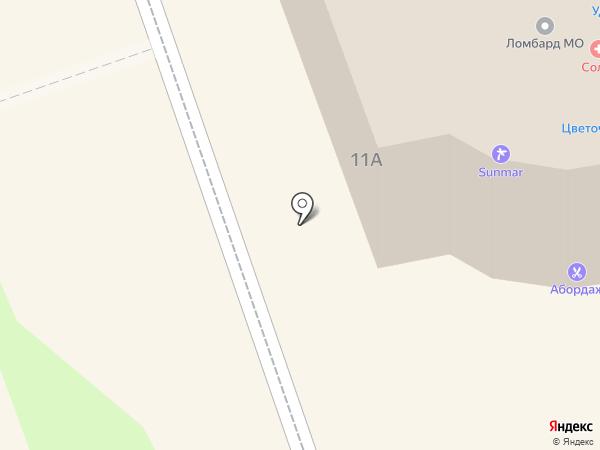 Салон меха на карте Ивантеевки
