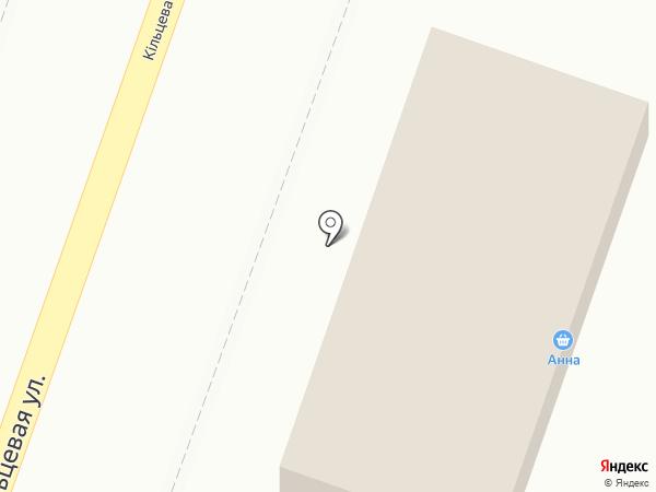 Анна на карте Макеевки