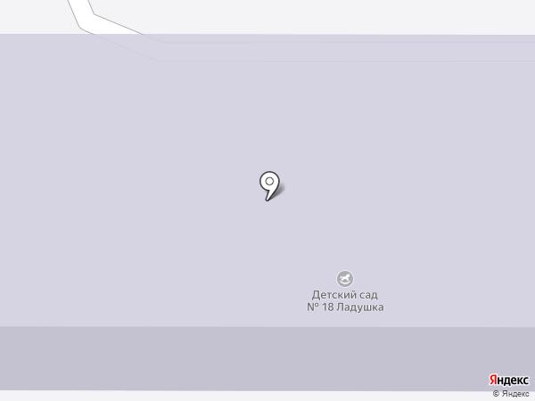 Детский сад №18 на карте Лыткарино
