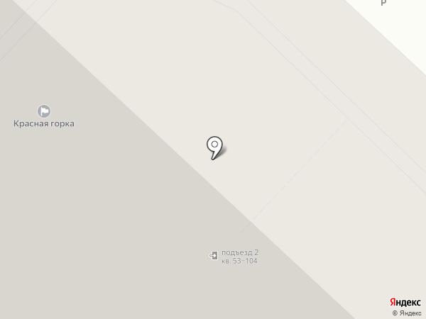 Красная горка, ТСЖ на карте Люберец