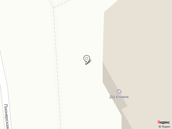 Седьмой квартал на карте Ивантеевки
