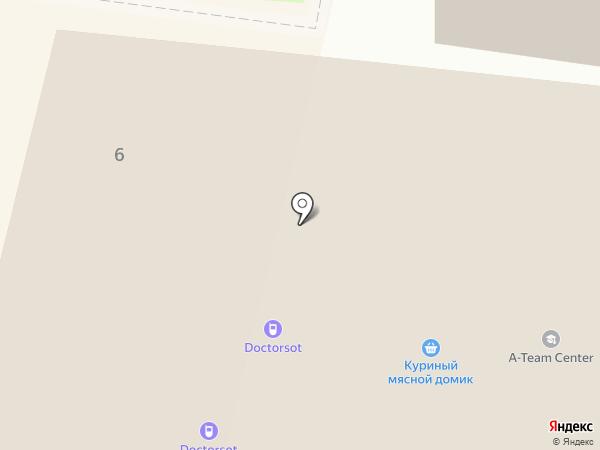 Магазин одежды на карте Ивантеевки