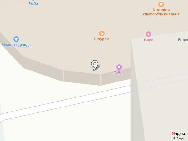Домовой на карте Ивантеевки