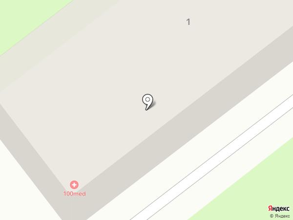 100MED на карте Лыткарино