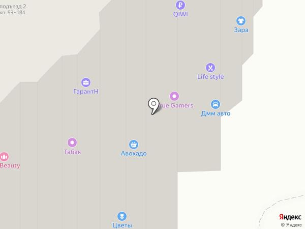 Альбион на карте Люберец