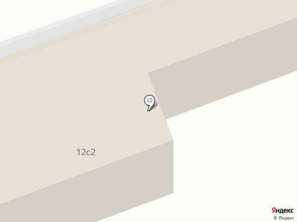 Дом причта Храма Смоленской Иконы Божией Матери на карте Ивантеевки