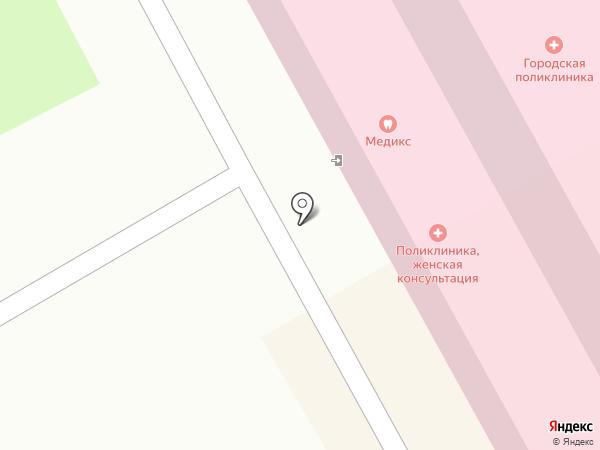 Мособлмедсервис, ГБУ на карте Ивантеевки