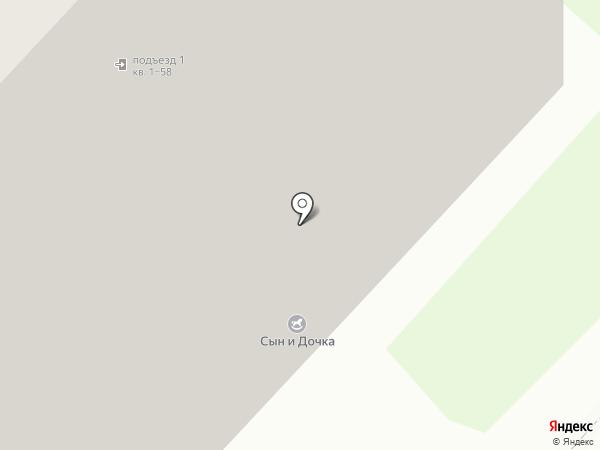 Котик на карте Люберец
