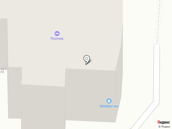 Мак на карте Ивантеевки