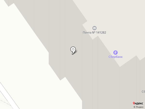 Почта Банк, ПАО на карте Ивантеевки