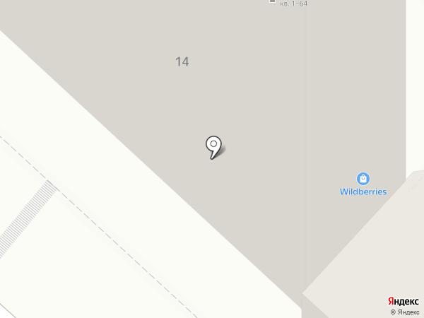 Агузин на карте Люберец