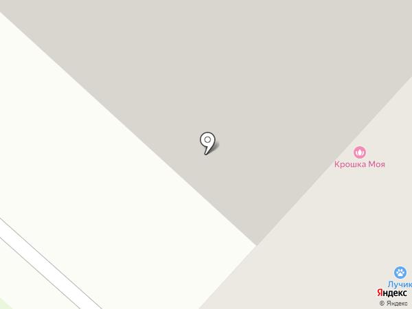 Маргаритка на карте Люберец