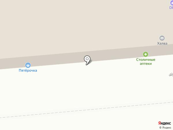 Пятерочка на карте Некрасовки