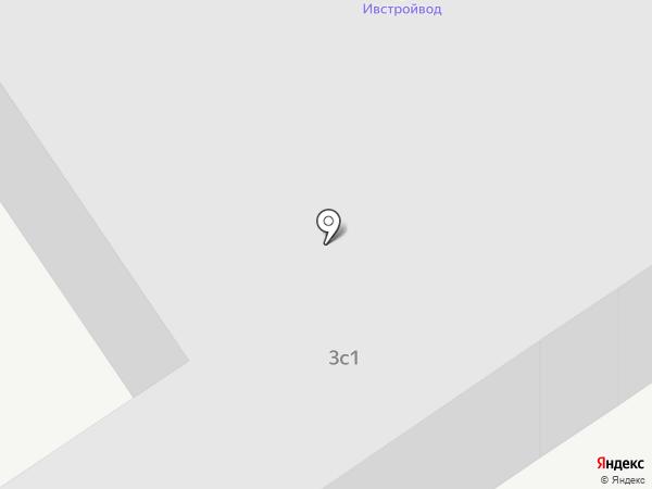 Ивстройвод на карте Ивантеевки