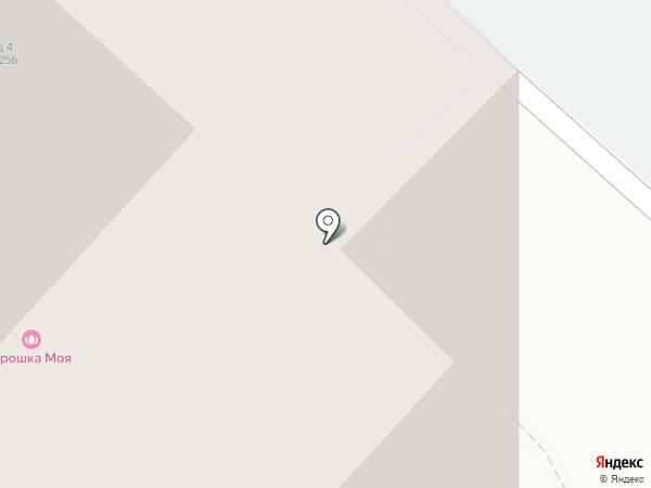 Авангард на карте Люберец