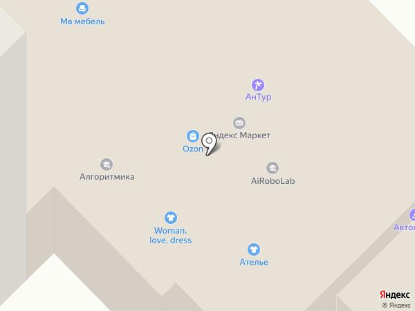Мясков на карте Ивантеевки
