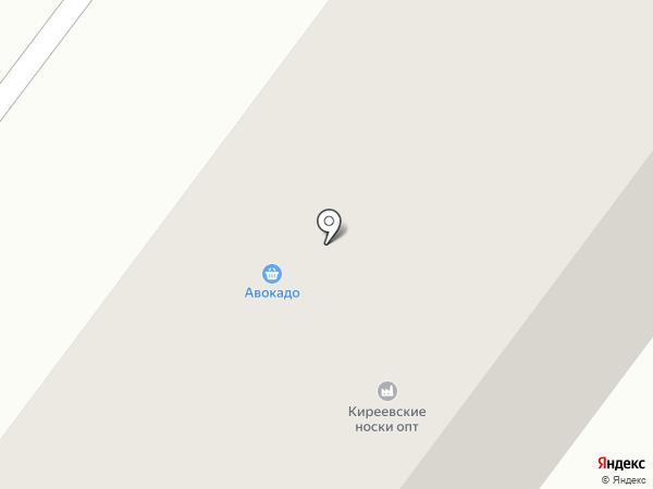 Шаляпин на карте Киреевска