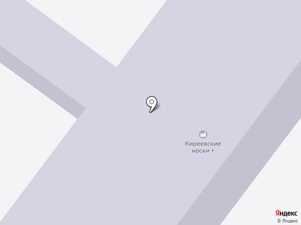 Болоховский машиностроительный техникум на карте Киреевска