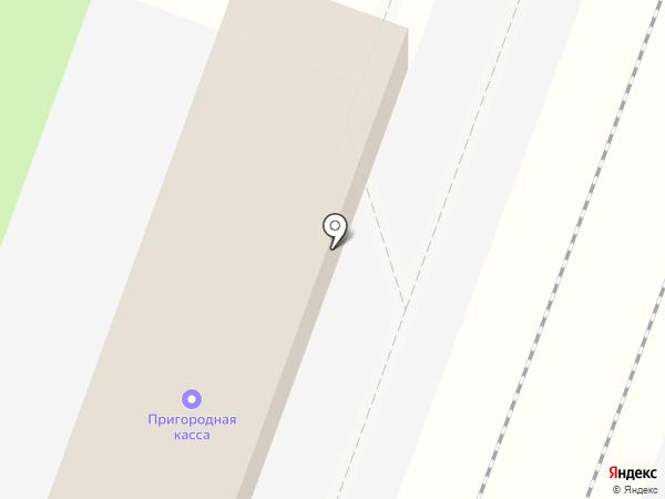Остановочный пункт 43км на карте Зеленоградского