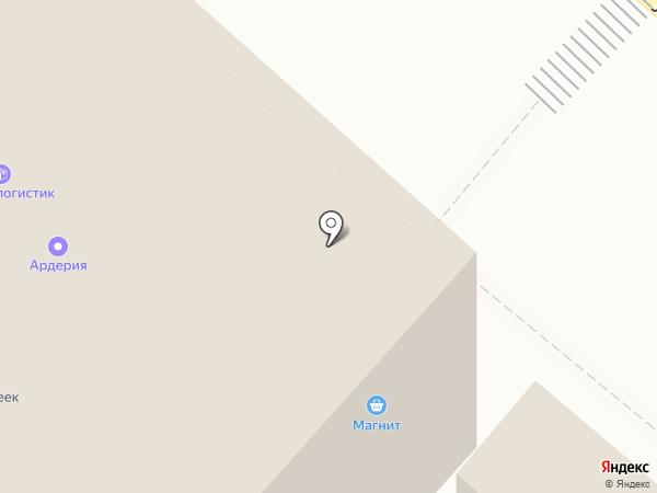 Магнит на карте Люберец
