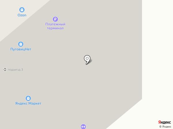 Карамель на карте Ивантеевки