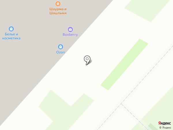 Советская Аптека на карте Москвы